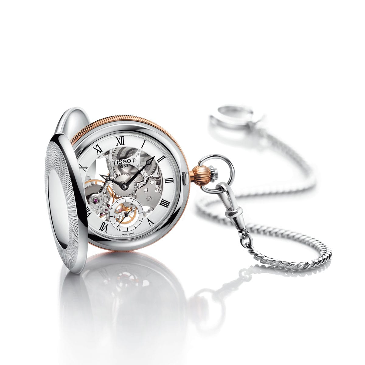 Tissot - Tissot Bridgeport Pocket Mechanical Skeleton