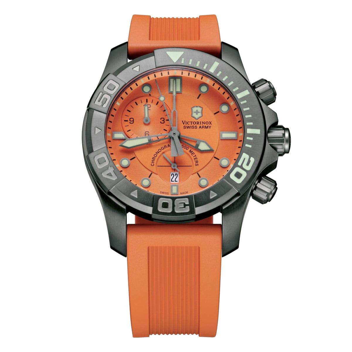 Victorinox Swiss Army - Dive Master 500 Gunmetal Chronograph
