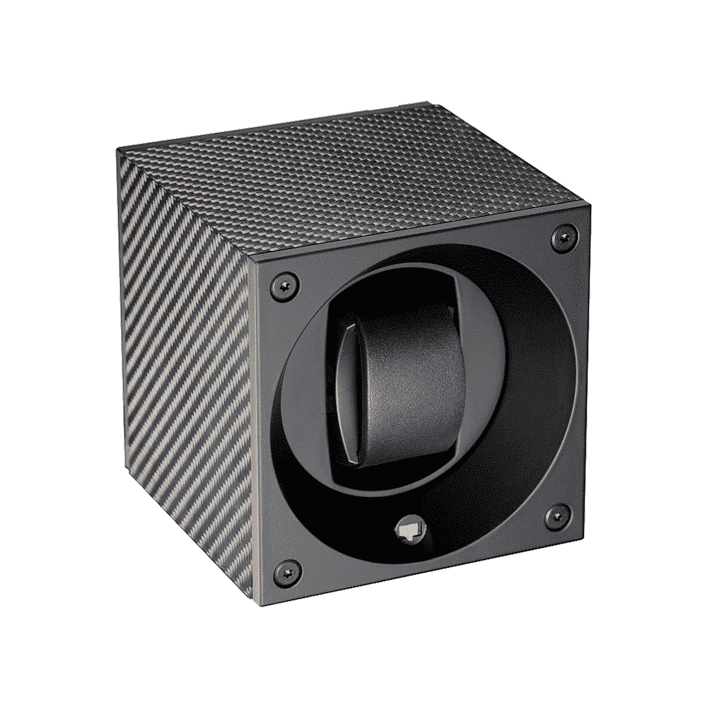 Swiss Kubik - Masterbox en fibre de carbone noir