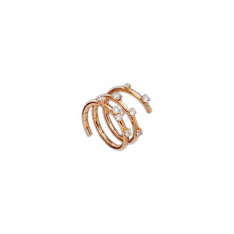 Piero Milano - Fuji rose gold ring