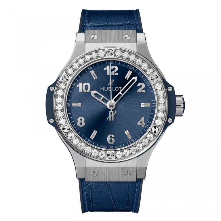 Hublot - Big Bang Steel Blue Diamonds