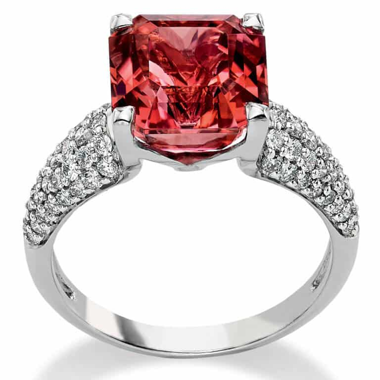 Lionel Meylan Créations - Pink tourmaline ring