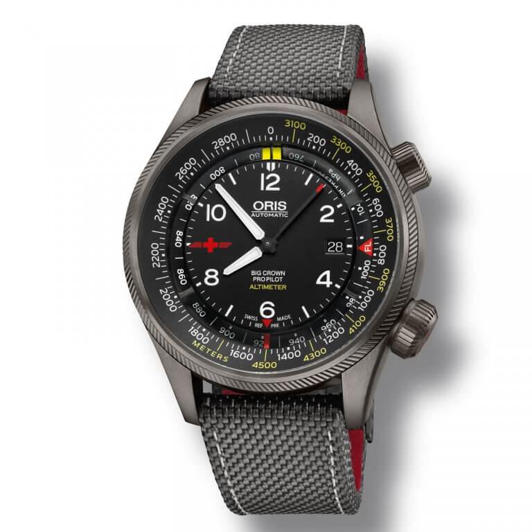 Oris - Altimeter Rega Limited Edition