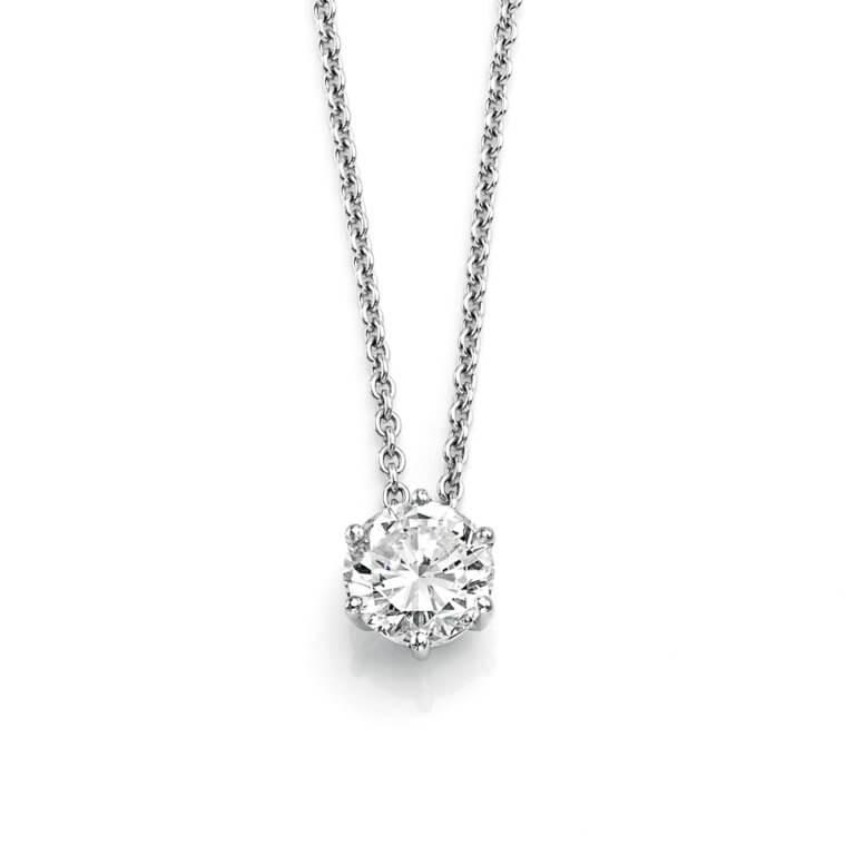 Lionel Meylan Créations - Collier serti diamant blanc