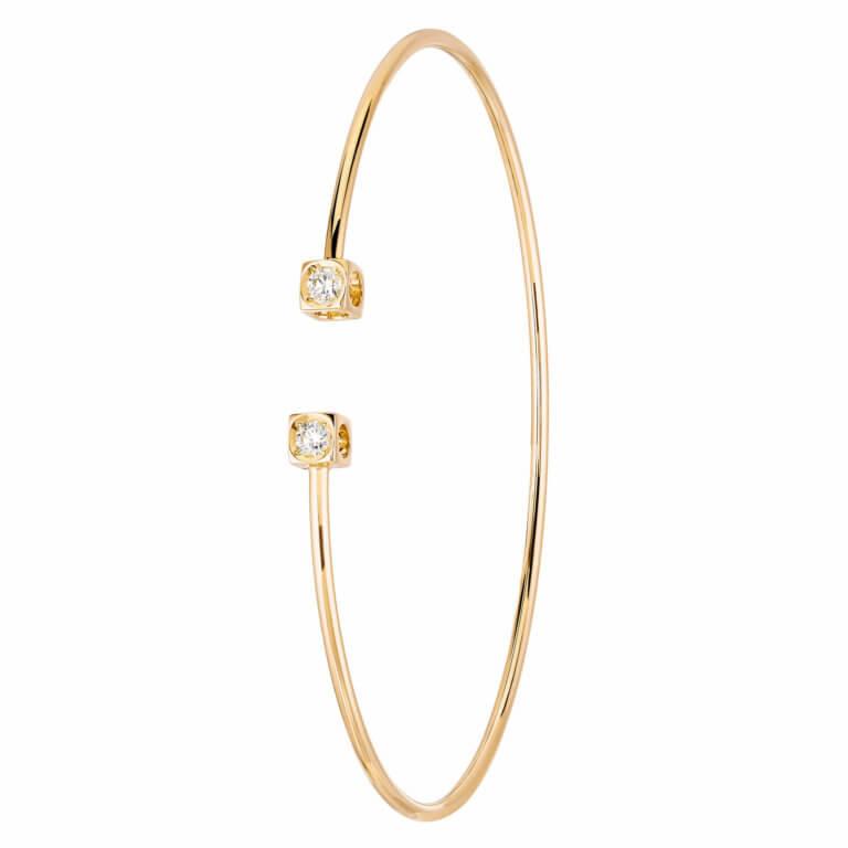 dinh van - Bracelet Le Cube Diamant