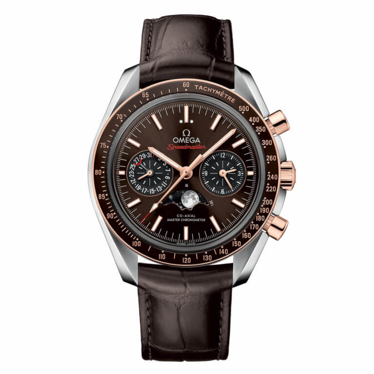Omega - Speedmaster Moonwatch Omega Co-Axial Master Chronometer Moonphase Chronograph 44.25 mm