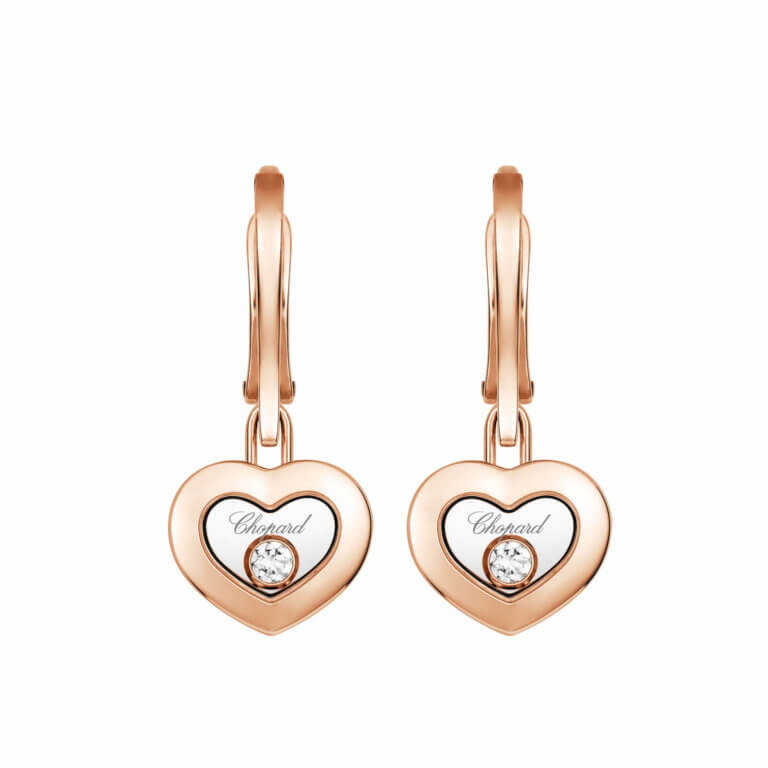 Chopard - Boucles d'oreilles Happy Diamonds