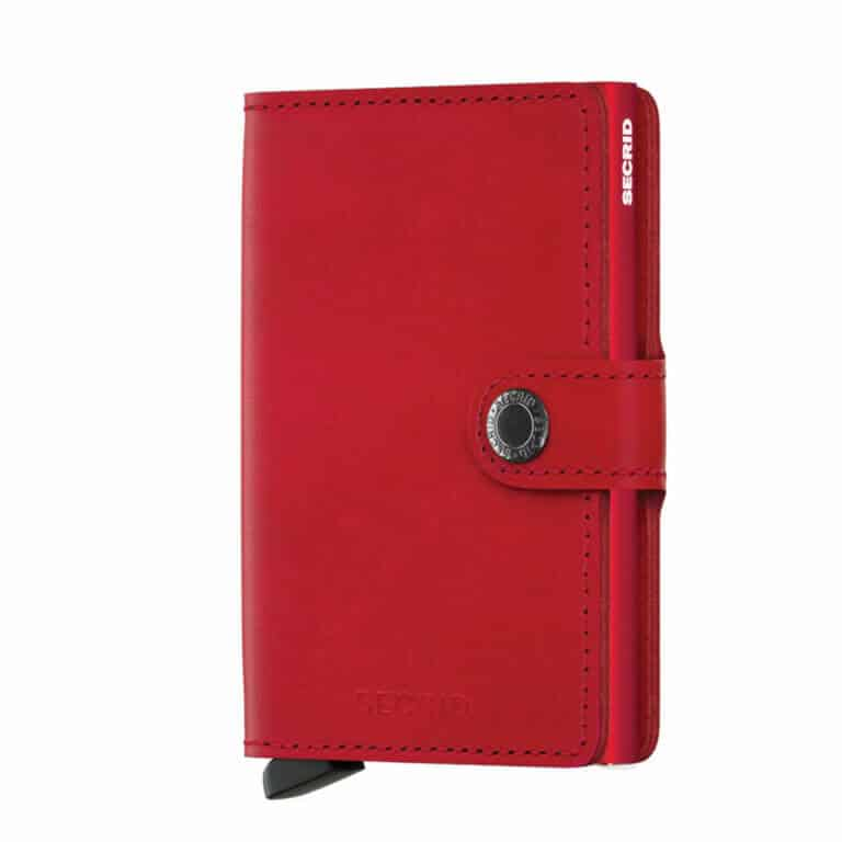 Secrid - Miniwallet Original Red-Red