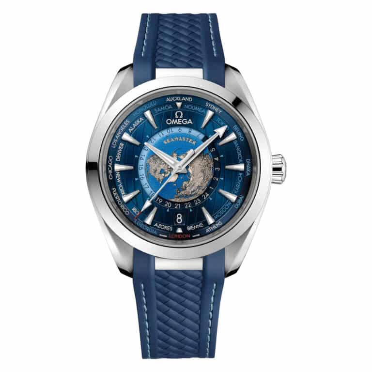 Omega - Seamaster Aqua Terra 150M Co-axial Master Chronometer GMT Worldtimer 43mm