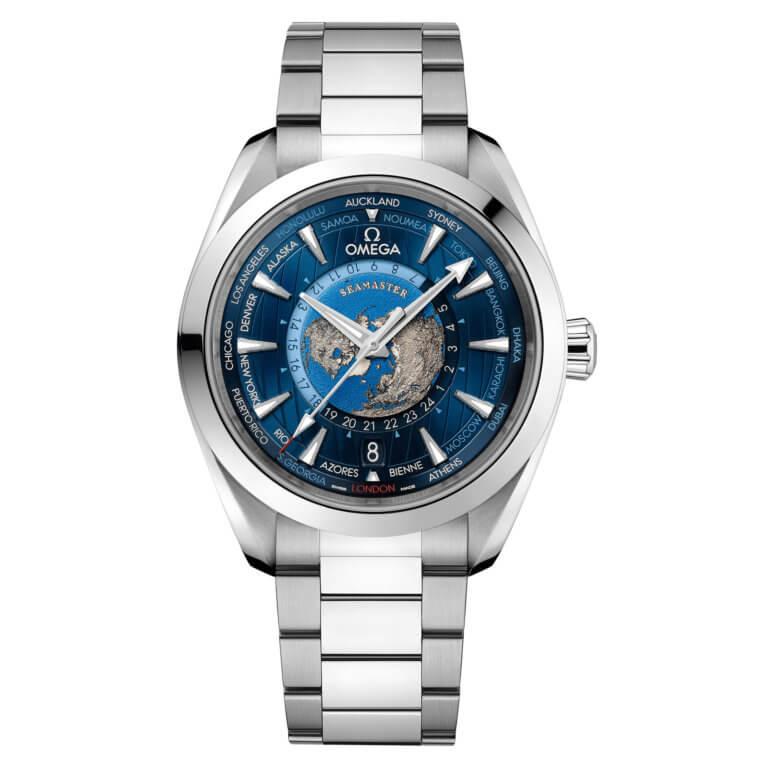 Omega - Seamaster Aqua Terra 150M Co-axial Master Chronometer GMT Worldtimer 43mm