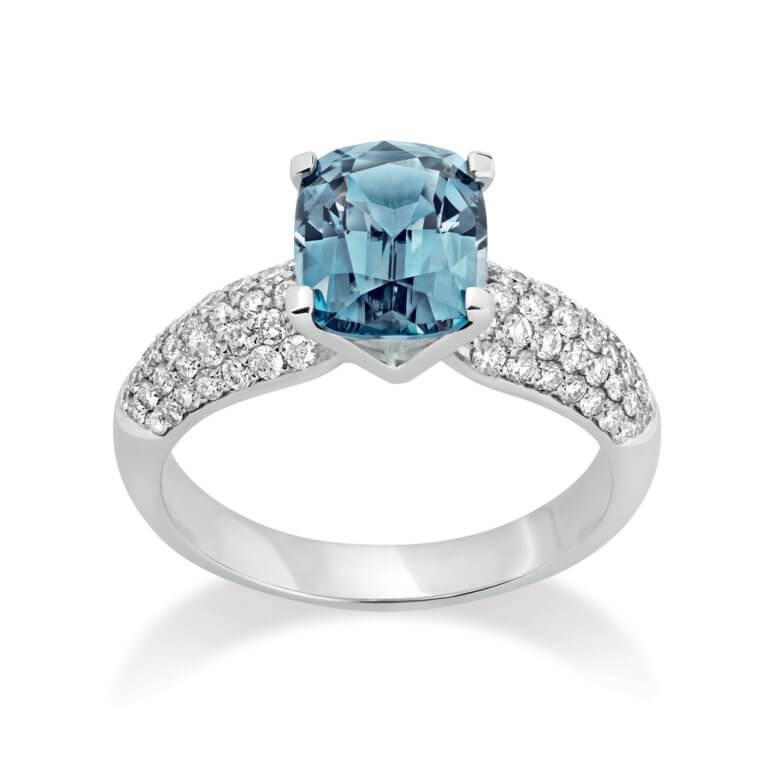Lionel Meylan Créations - Spinelle Cobalt Blue M2 Ring