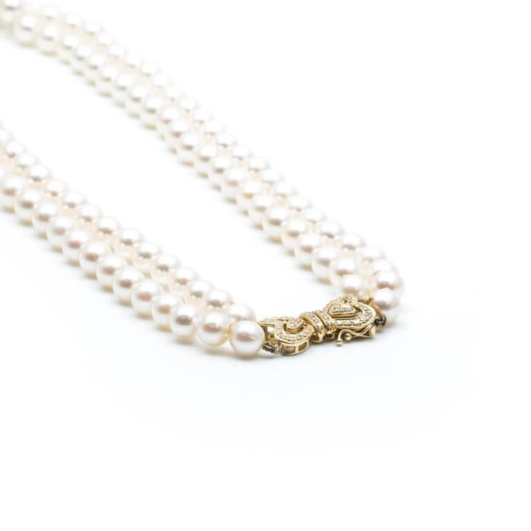 Bijoux Vintage - Collier de perles