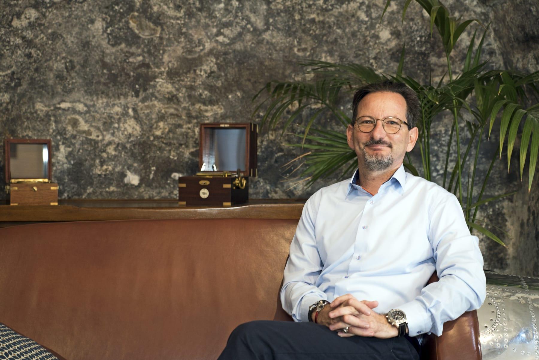 Christophe Carderinis, Horloger