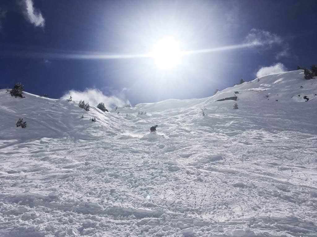 Margaux Grandchamp, Ski