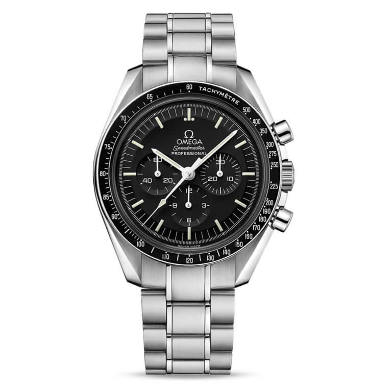 Omega - Speedmaster Moonwatch professional chronographe 42mm verre hésalite