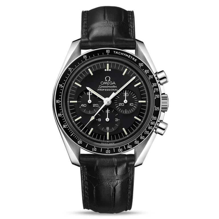 Omega - Speedmaster Moonwatch professional chronographe 42mm verre saphir