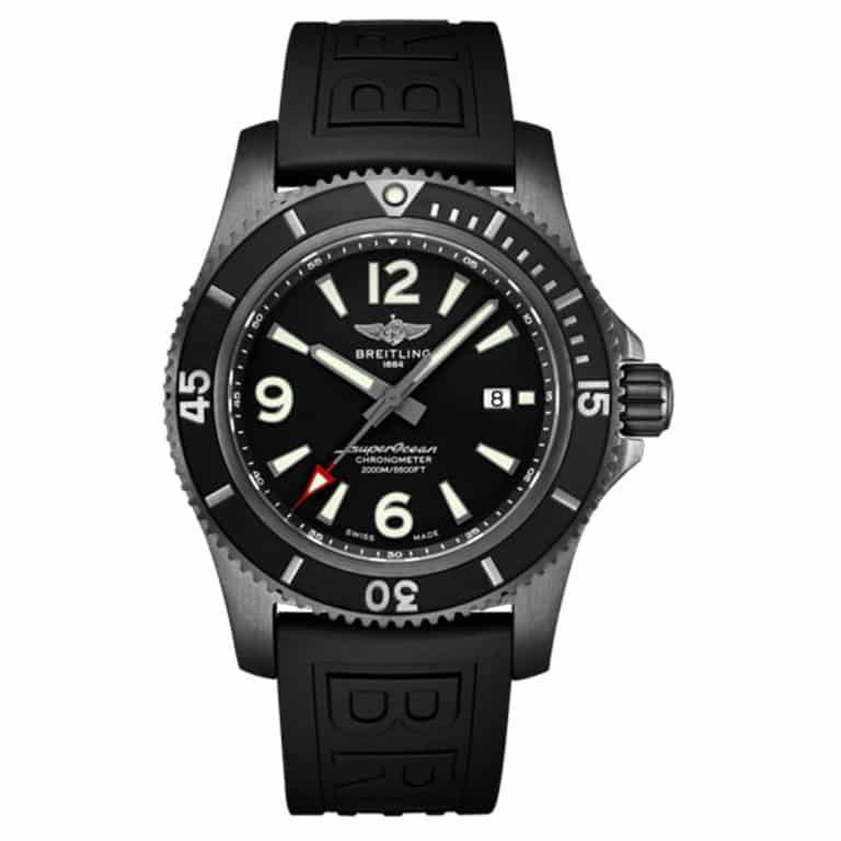 Breitling - SuperOcean Automatic 46 Black Steel