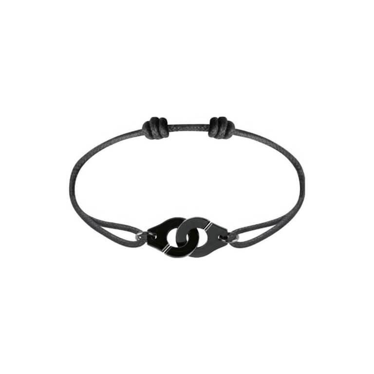 dinh van - Menottes R12 bracelet sur cordon