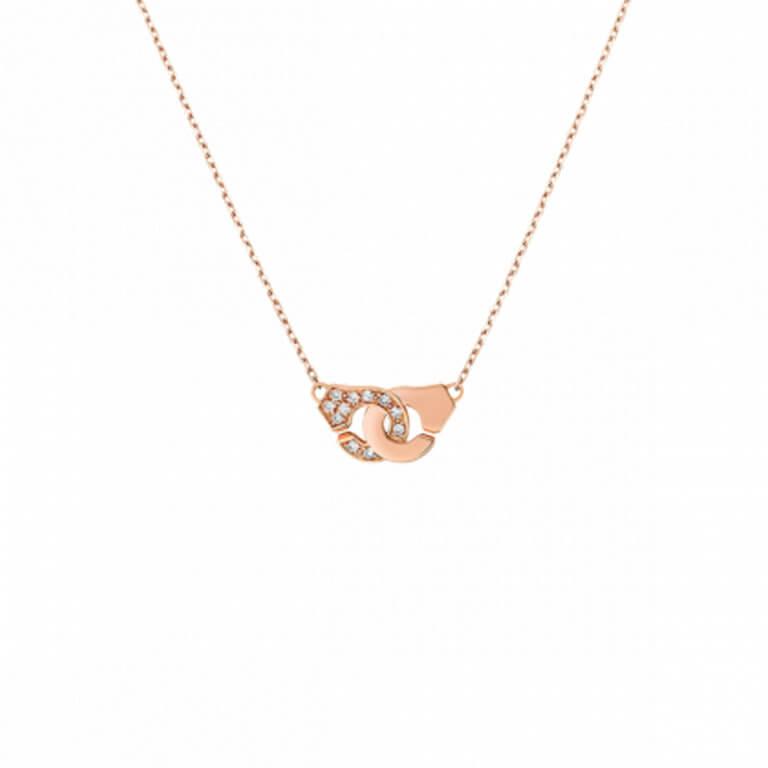 dinh van - Menottes R8 collier sur chaine