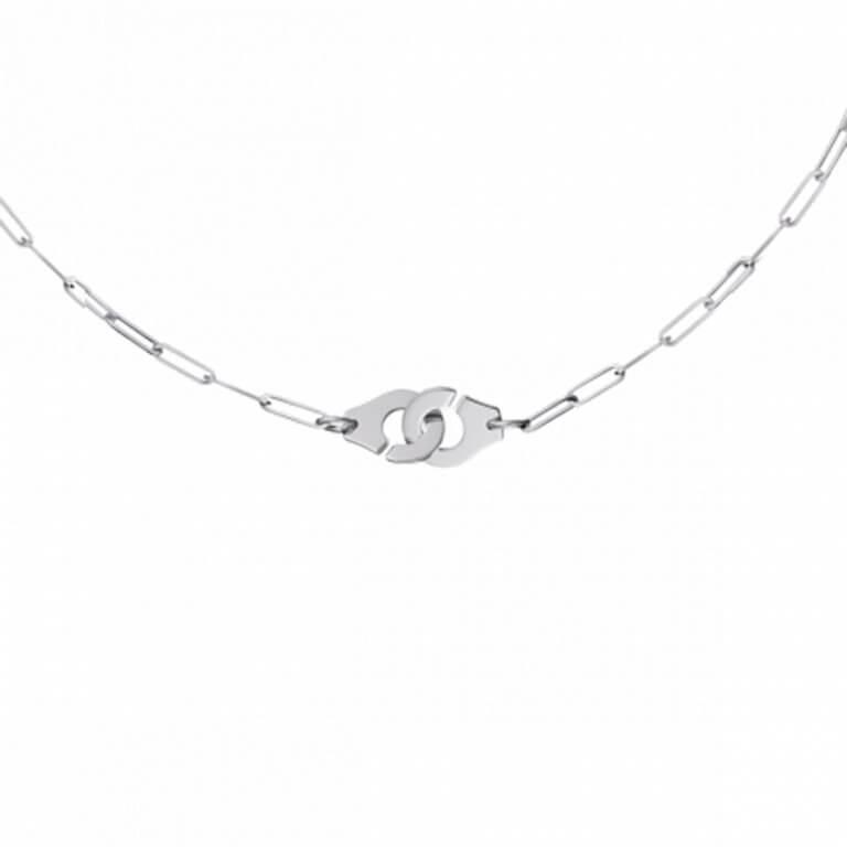 dinh van - Menottes R10 collier sur chaine