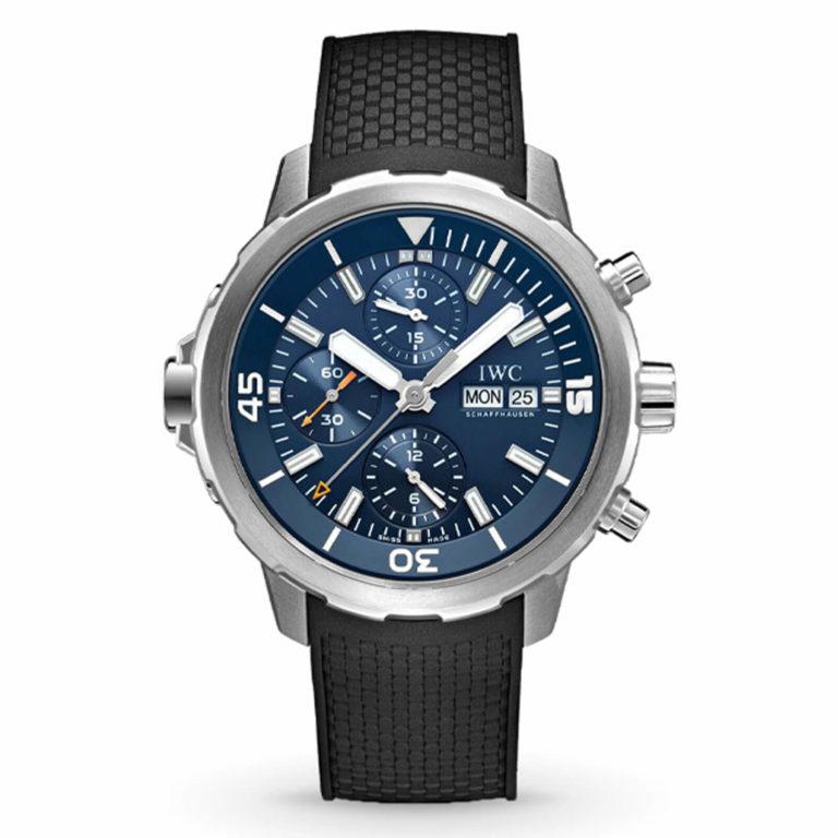 IWC Schaffhausen - Aquatimer chronographe Edition Expédition Jacques-Yves Cousteau