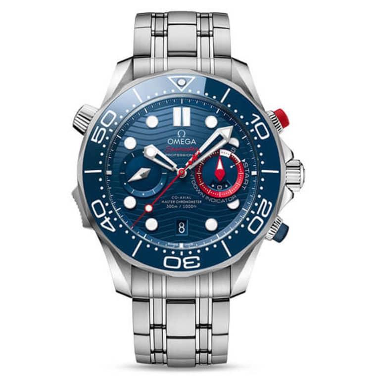 Omega - Seamaster Diver 300M co-axial master chronometer chronograph 44