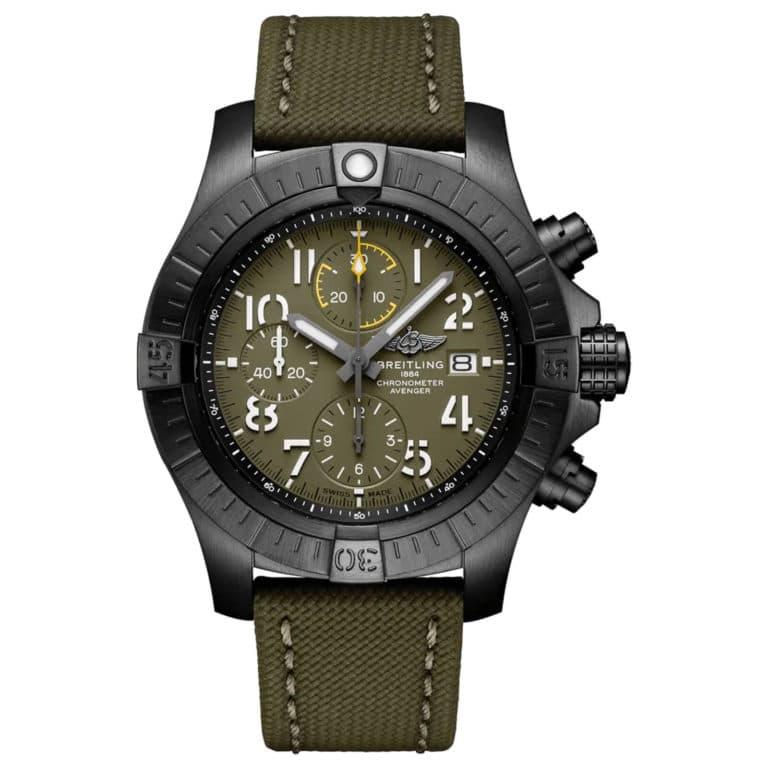 Breitling - Avenger chronographe 45 night misssion