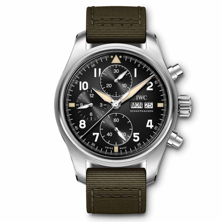 IWC Schaffhausen - Montre d'aviateur chronographe Spitfire