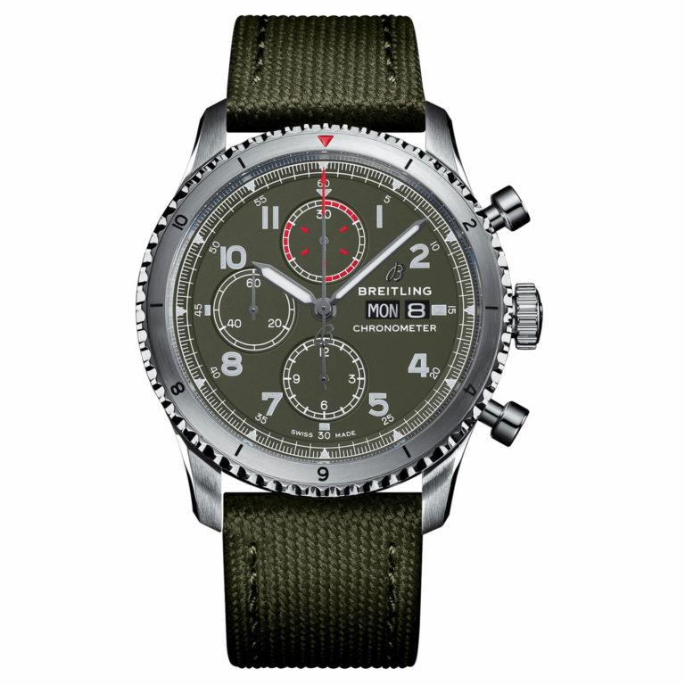Breitling - Aviator 8 chronographe 43 Curtiss Warhawk