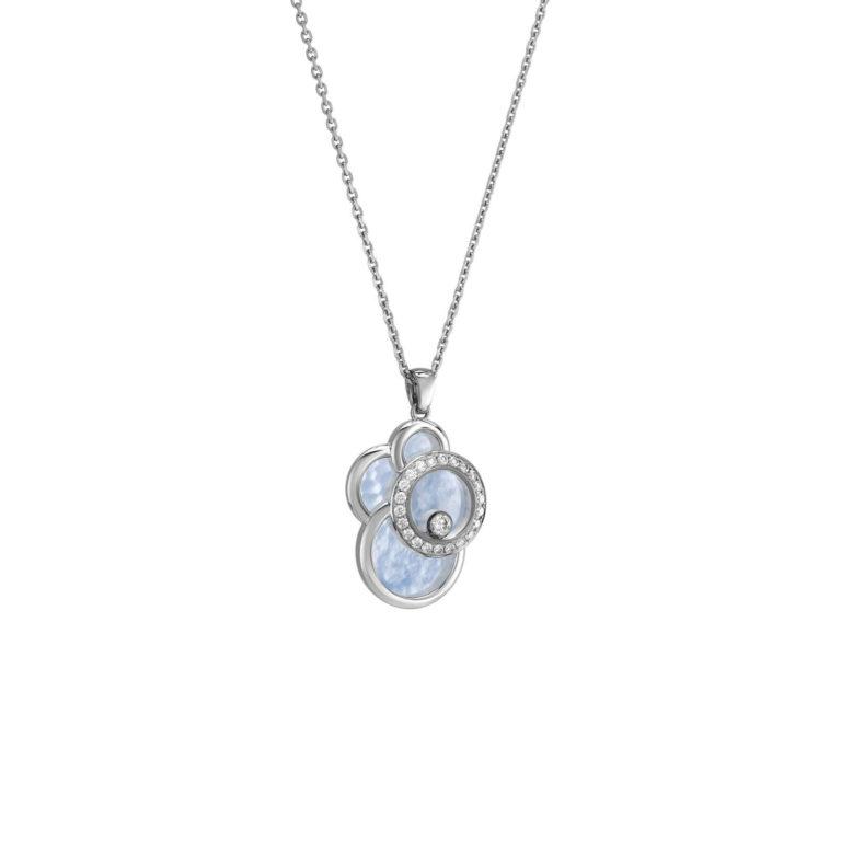 Chopard - Happy Diamonds collier en or blanc