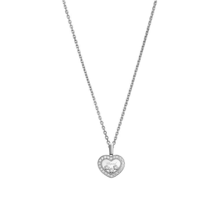 Chopard - Happy Diamonds collier avec pendentif coeur