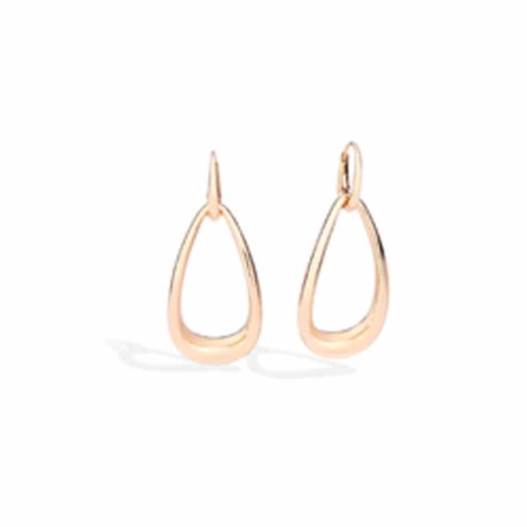 Pomellato - Fantina boucles d'oreilles pendantes en or rose