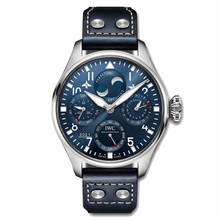 IWC Schaffhausen - Grande montre d'aviateur calendrier perpétuel