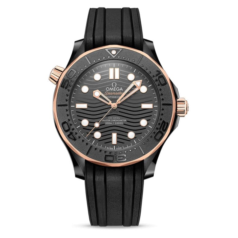 Omega - Seamaster Diver 300M Co-axial master chronometer 43.5mm