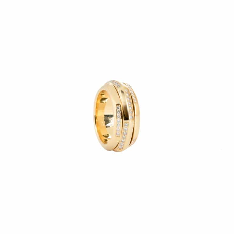 Piaget - Possession ring in 750 yellow gold set with 84 diamonds